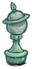Statue Pawn Moonglass