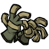 Dry Grass Tan Unprotective Gloves Icon