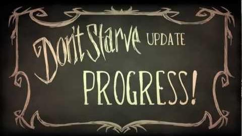 Don't Starve- Progress