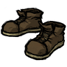 Insufficient Chocolate Brown Steel-Toed Boots Icon