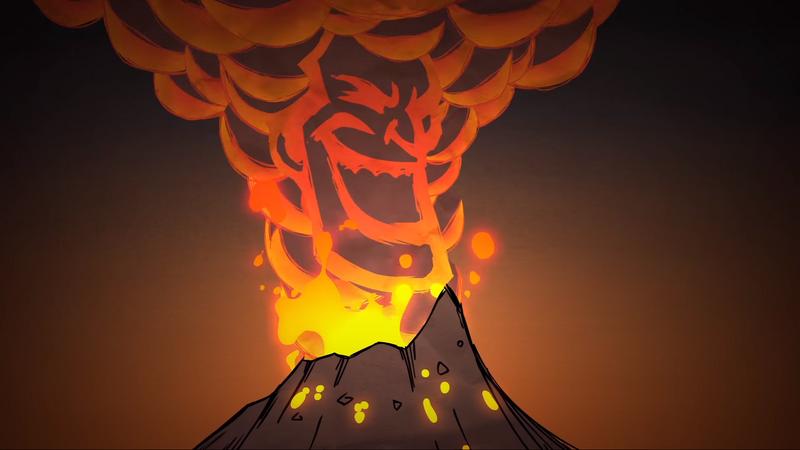 Trailer SW Volcano Eruption