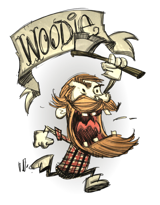 Woodie Normal Don T Starve Game Wiki Fandom