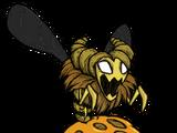 Corona de abeja reina