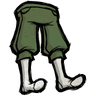 Forest Guardian Green Knee Pants Icon