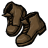 Werebeaver Brown Ankle Boots Icon