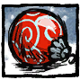 Red Festive Bauble Profile Icon