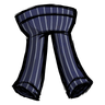 Crow Blue Pinstripe Pants Icon