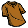 Pumpkin Orange T-Shirt Icon