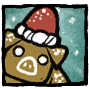 Gingerbread Pig Profile Icon