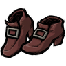Wormgut Red Buckled Shoes Icon