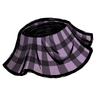 Peripeteia Purple Plaid Skirt Icon