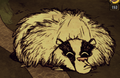 Bearger sleeping.png