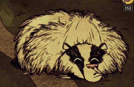 Bearger sleeping