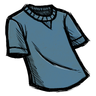 Cobaltous Oxide Blue T-Shirt Icon