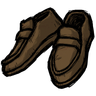 Werebeaver Brown Loafers Icon
