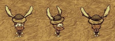 Beefalo Hat Woodie