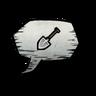 Shovel Emoticon Icon