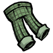 Checkered Trousers (Willful Green)