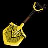 Ornate Nordic Shovel Icon
