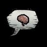 Sanity Brain Emoticon Icon