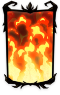 Flame Portrait Background