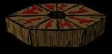 木製傳送台