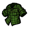 Lumberjack Shirt (Being Uneasy Green)