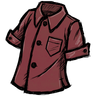 Wormgut Red Buttoned Shirt Icon