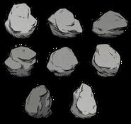 Cave-in Boulder Variants