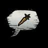 Carrot Emoticon Icon