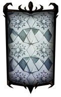 Crystalline Ice Box Portrait Background