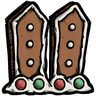 Gingerbread Fence Icon