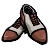 Low pH Red Spectator Shoes Icon