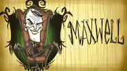 Maxwell Don't Starve Steam Card Expanded