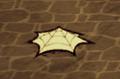 Silk on ground