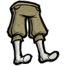 Dry Grass Tan Knee Pants Icon