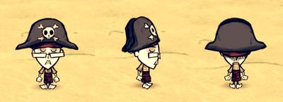 Pirate Hat Wickerbottom