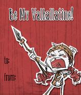 Wigfrid Carta de Valentin