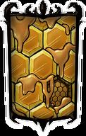 Crystalline Honeydome Portrait Background