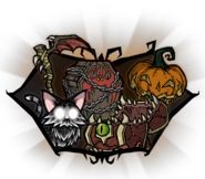 Hallowed Nights Items Skin Set Group Portrait