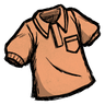 Fishy Tincture Orange Collared Shirt Icon