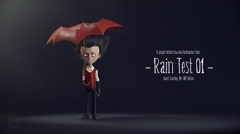 Don't Starve - Rain Test 01 feat. an Wip Wilson