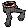 Candy-Striped Pants Icon