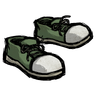 Cactus Green Sneakers Icon