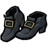 Monastral Blue Buckled Shoes Icon