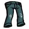 Bird Tail Blue Jeans Icon