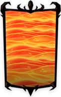 Molten Lava Portrait Background