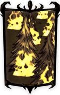 Forest Fire Portrait Background