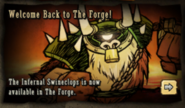 Swineclops Forge Ad
