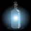 Botella linterna